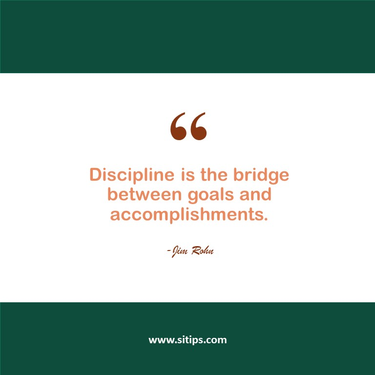 Benefits and Importance Of Self-Discipline