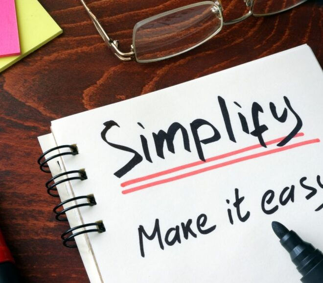 The Biggest Key To Boosting Productivity? Simplify